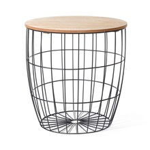 metal iron wire coffee table