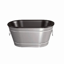 STAINLESS STEEL OVAL ICE TUB