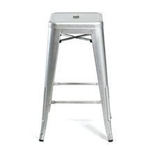 vintage iron sheets stool