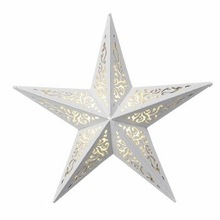 WHITE COLOR CHRISTMAS DECORATIVE STAR