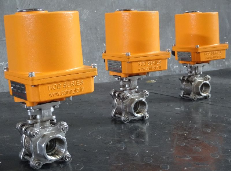 Electric Actuator Operated Ball Valves