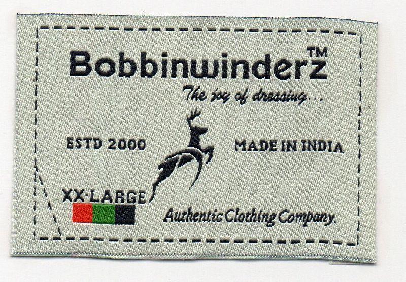 c896c21d8662 Woven Labels Manufacturer in Bangalore Karnataka India by Usha Woven ...