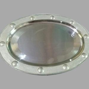 Silver TV Tray