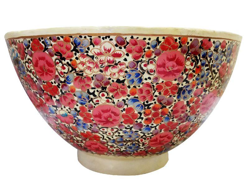 Paper Mache FruitsSnacksMixing Bowl