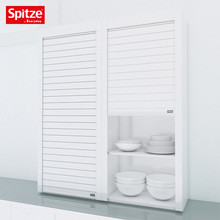White Glass Roller Shutter Door