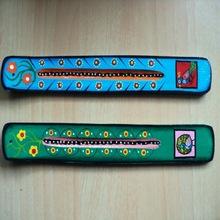 birds hand painted incense sticks holders