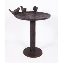 Antique Finish Cast iron garden bird bath