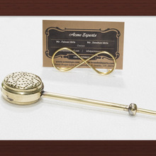 Brass Long Handle Cup tea strainer