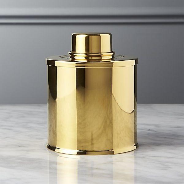 Brass Tea Caddy