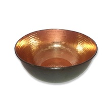 Copper Hammered Manicure Bowls
