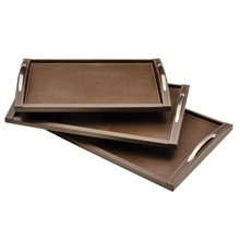 Faux Leather serving Trays