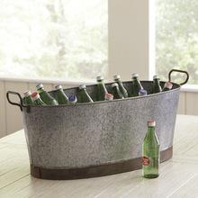 Galvanized Beverages Ice Buckets