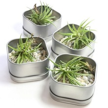 GALVANIZED GARDEN PLANTER