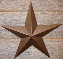 Metal Barn Star With Antique finish For Wall Hanging Decor