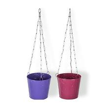 Metal Hanging Basket Planters