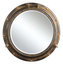 Metal Round Mirror