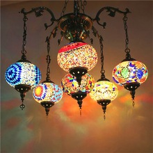 Round Mosaic Lamps