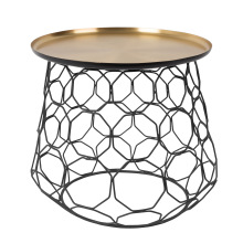 Round Shaped Metal Wire Coffee Table