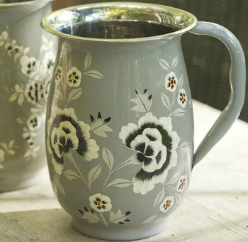 Stainless Steel Hand Painted Jugs