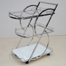 Stainless Steel Serving Bar Carts