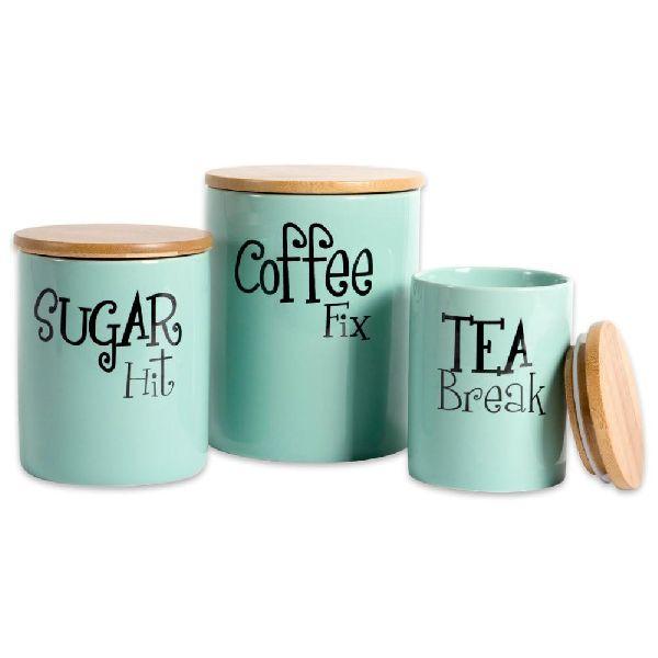 sugar canister set
