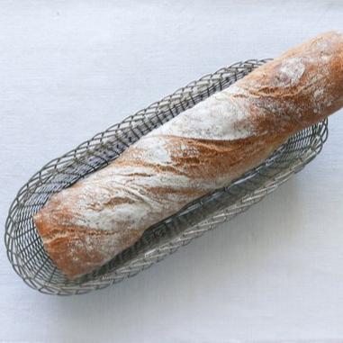 Wire Woven Bread Basket