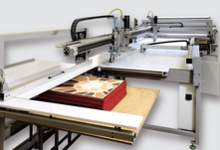 FULLY AUTOMATIC OVEREDGING MACHINE