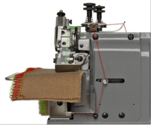LOCKED STITCH BUTT SEAMING MACHINE