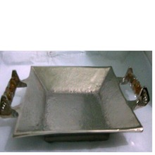 Aluminum Copper Tray With Handles
