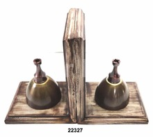Antique Chess Sphere Bookend