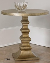Brass Ambella Dionis Champagne Side Table