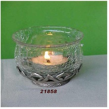 Clear Brass AND Glass Votives