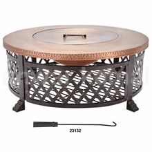 Copper Finish Bowls Fire Pits