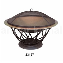 Copper Fire Pit With Stand