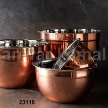 Copper Mixure Bowls