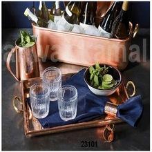 Copper Wine Trays