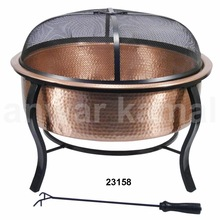 Food Copper Fire Pits with Cover