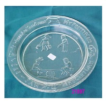 Glass Serving Plates