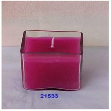 Glass Tealight Candle