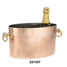 HAMMERED COPPER WINE CHILL BUCKETS