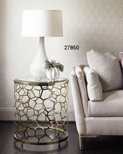 Iron Glass Side Tables