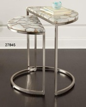 Iron Stone Marble Tables