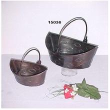 Iron with Finish Flower Vases