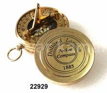 Nautical Compass With Box