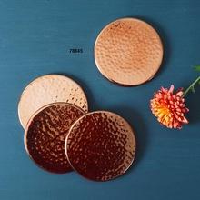 Pure Solid Copper Coasters
