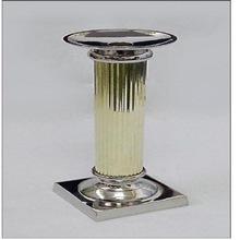 Steel Rib Colum Candle Holder