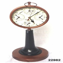 Vintage Brass Table Clock