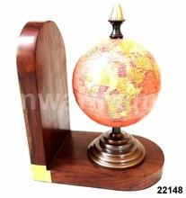 Vintage Globe Bookend
