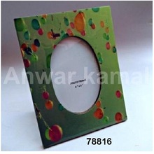 Wooden Photo Frame Painted