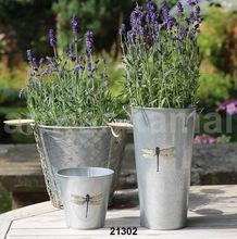 Zinc Galvanized Garden Planter